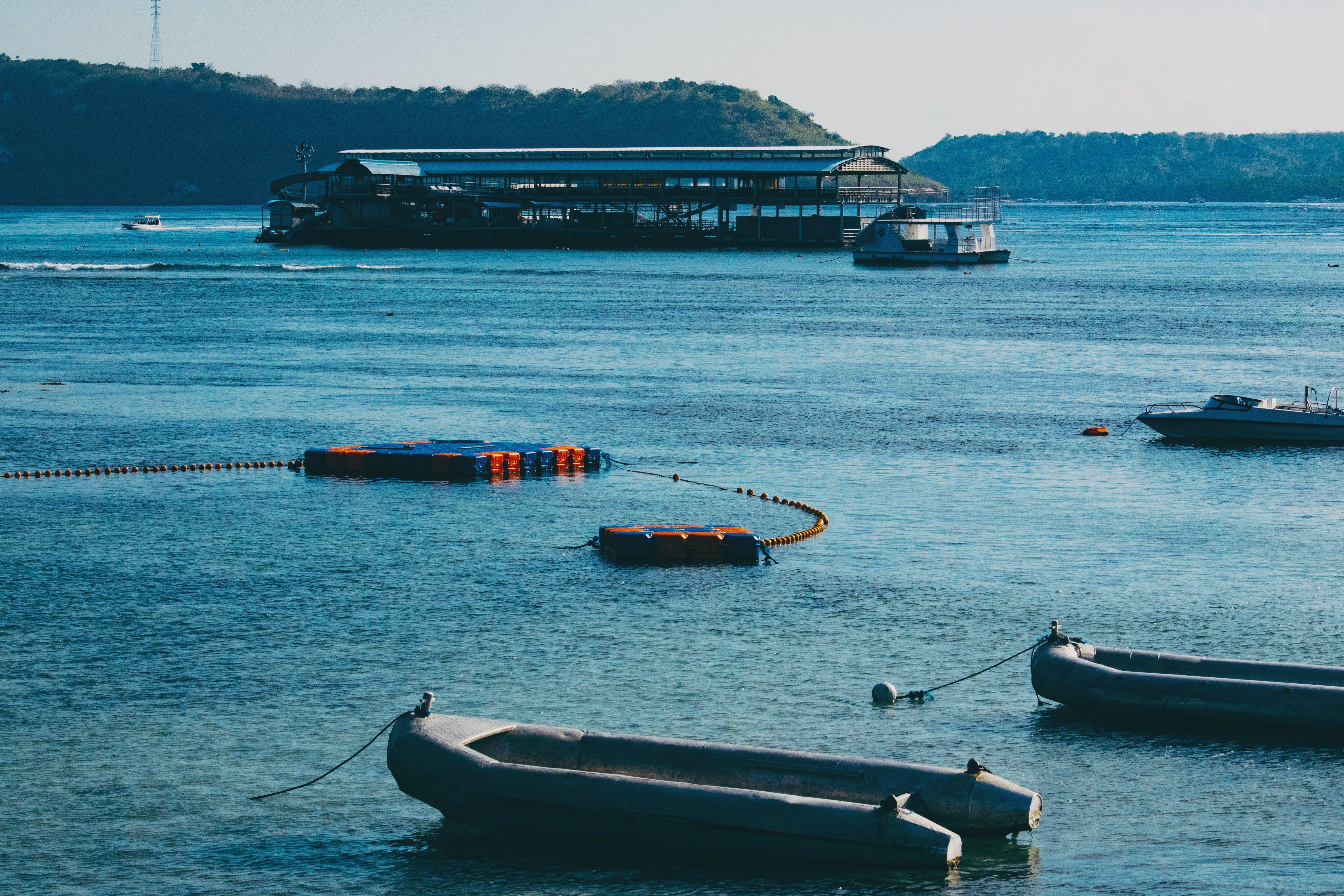 Foto profissional grátis de paisagem de um porto
