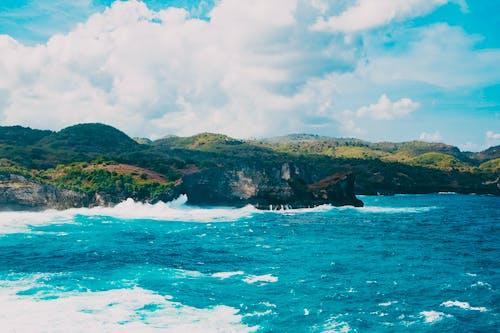 Gratis arkivbilde med bølger, bukt, dagslys, hav