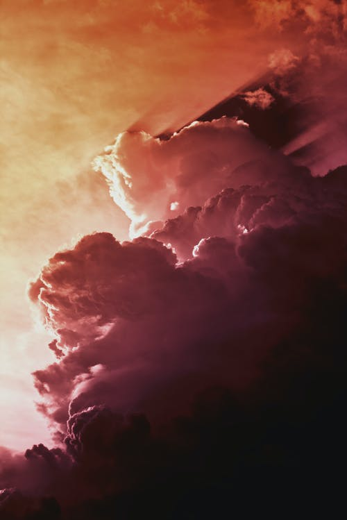 Free stock photo of abstract photo, cloud, colourful, dramatic sky