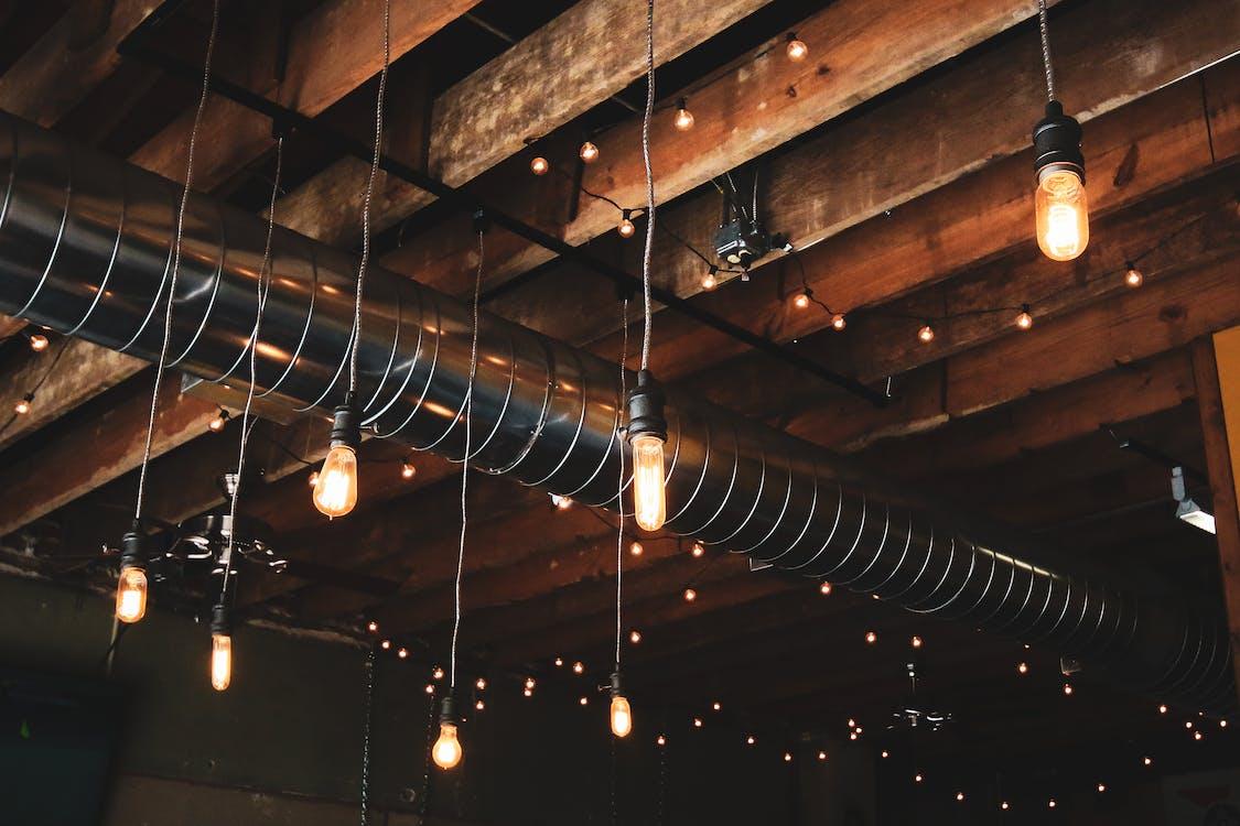 Lámparas Colgantes Negras