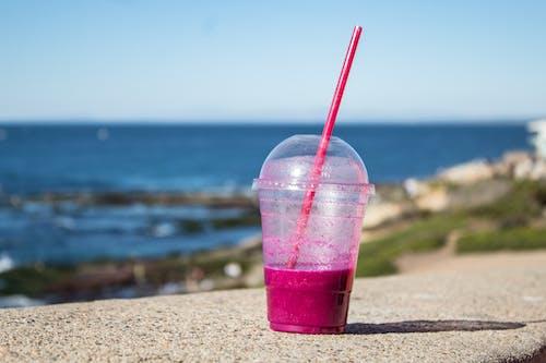 Ảnh lưu trữ miễn phí về bề mặt bê tông, cốc nhựa, nhựa, Nước ép