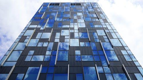 Gratis lagerfoto af arbejdsplads, arkitektdesign, arkitektur, blå