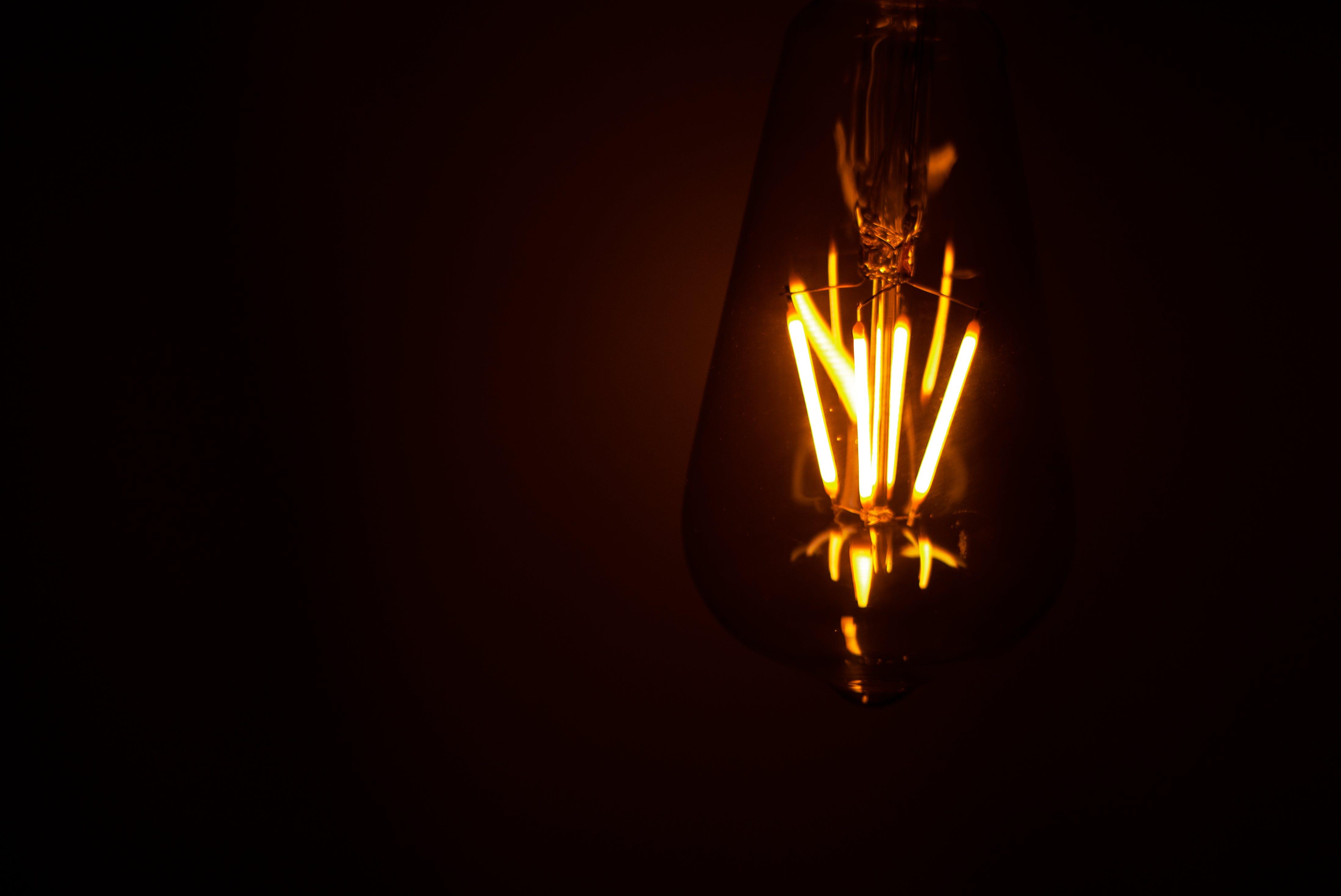 Free stock photo of light, lamp, bright, incandescent