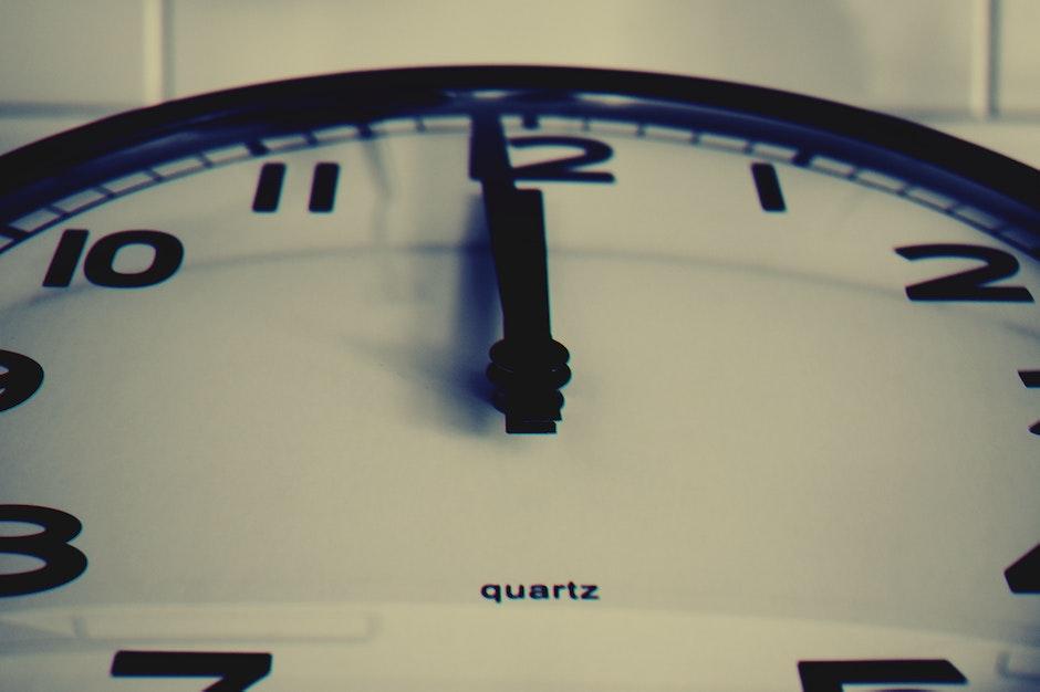 black-and-white, clock, close -up