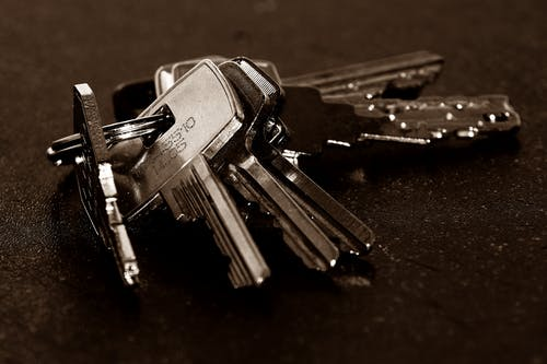 Foto profissional grátis de chaves, close, macro