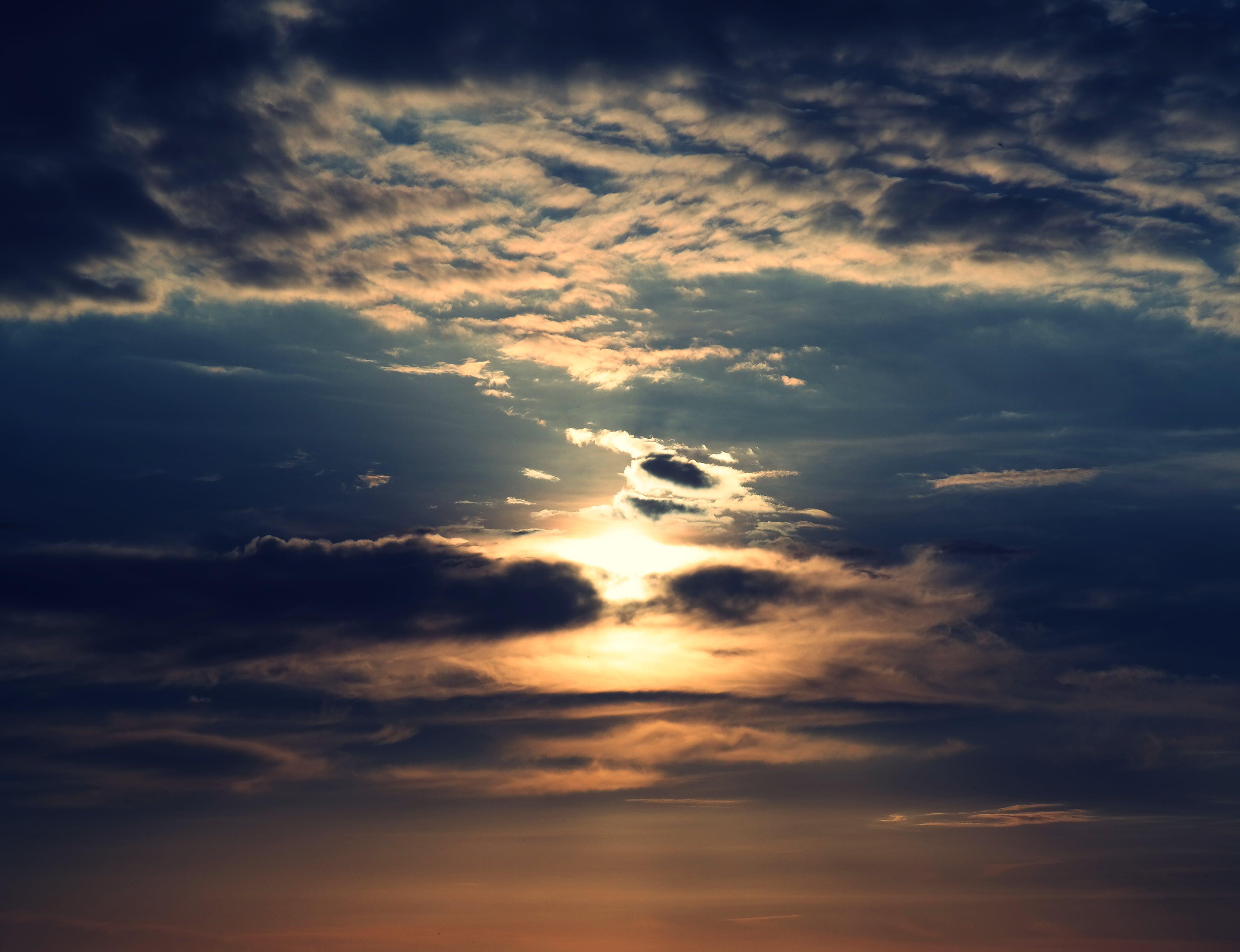 검은 구름, 구름, 새벽, 어두운의 무료 스톡 사진