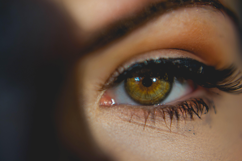 Free stock photo of women, eye, macro, detail
