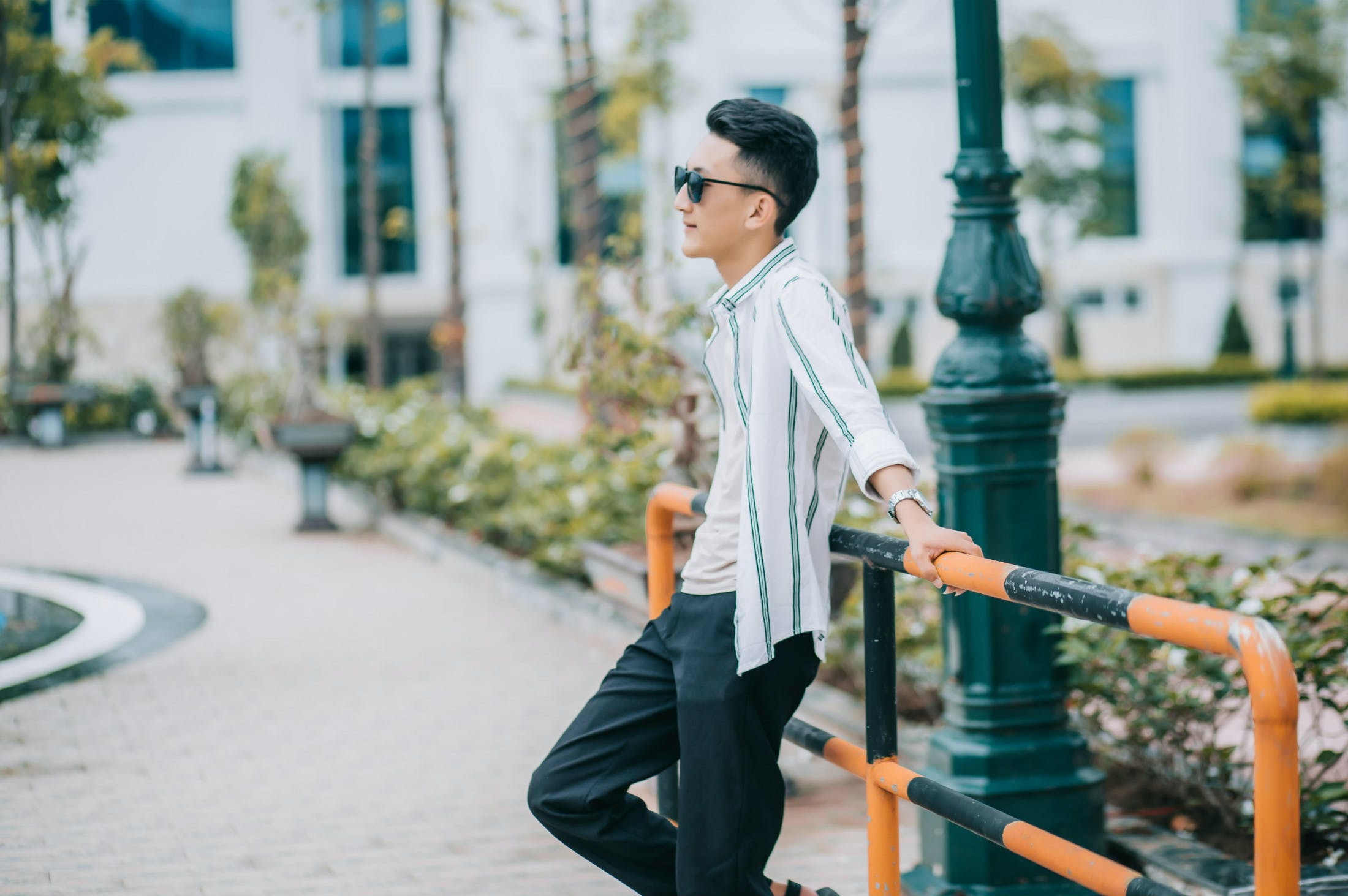 Free stock photo of asian man, cool, photo shoot