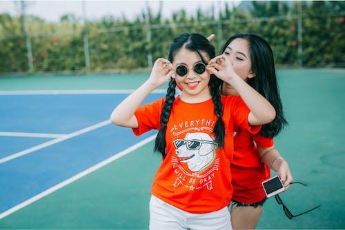 Gratis lagerfoto af Asiatisk pige, frisure, smil