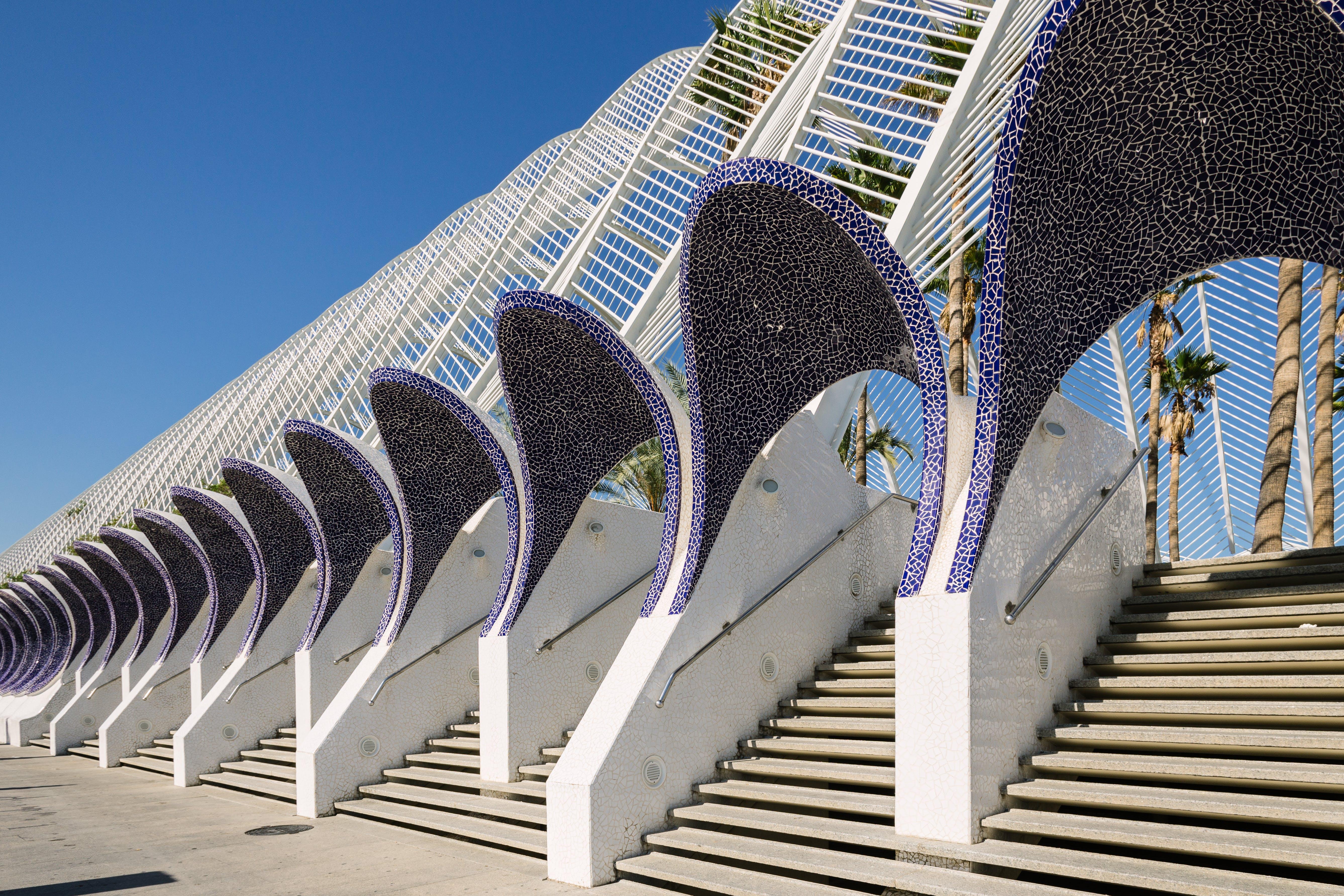 Free stock photo of architecture, calatrava, city of arts and sciences, spain