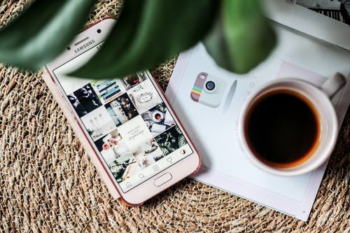 Free stock photo of blog, chill, coffee, flatlay