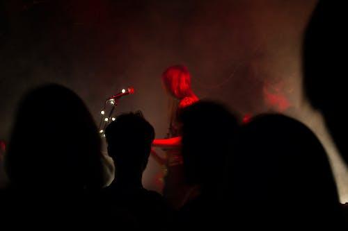 Free stock photo of concert, dark, live