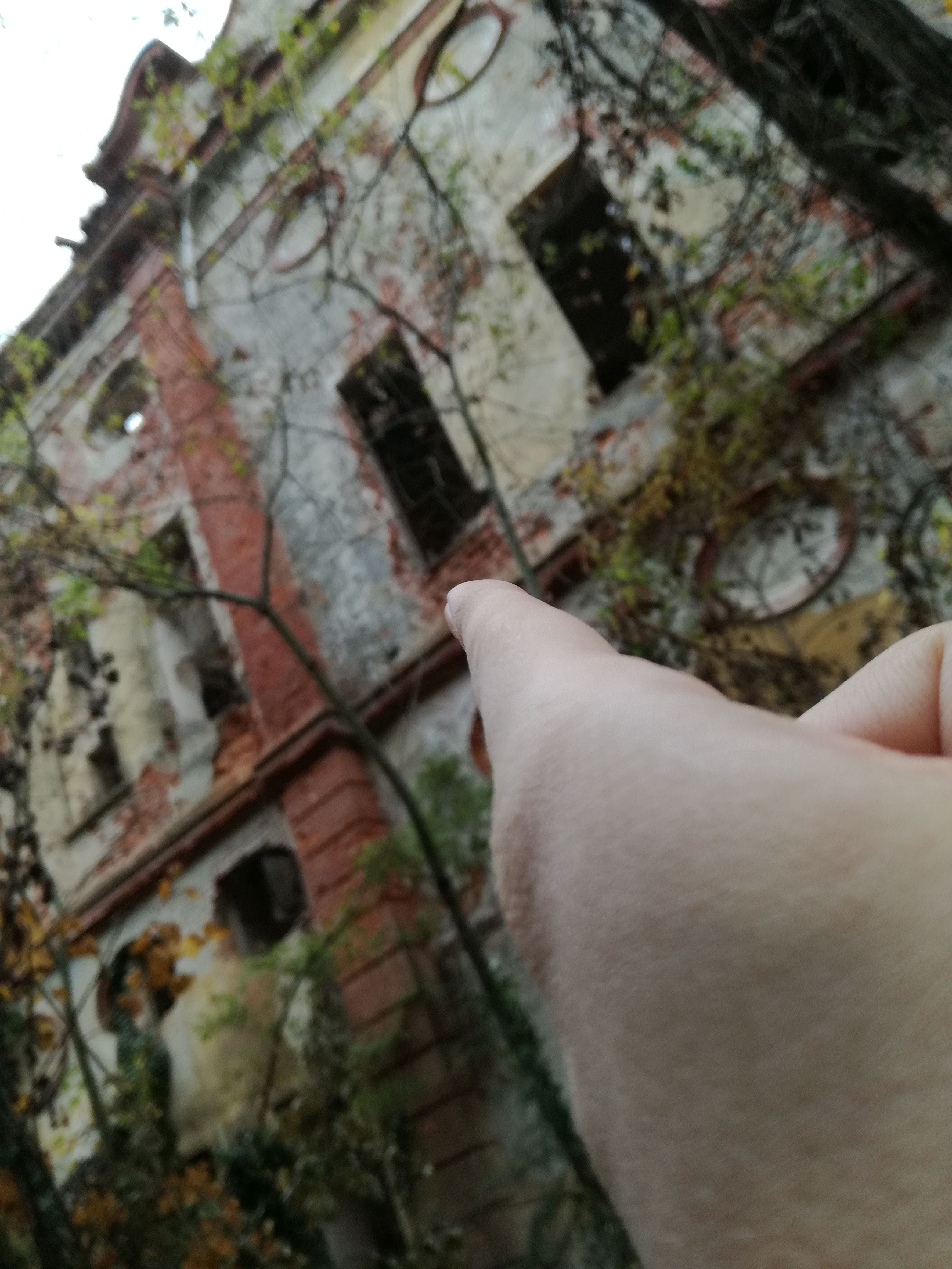 Free stock photo of abandoned, abandoned building, finger, hand