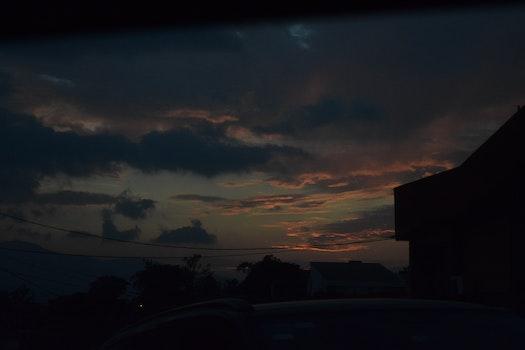 Free stock photo of city, dark, twilight, shadows