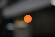 orange, bokeh, urban