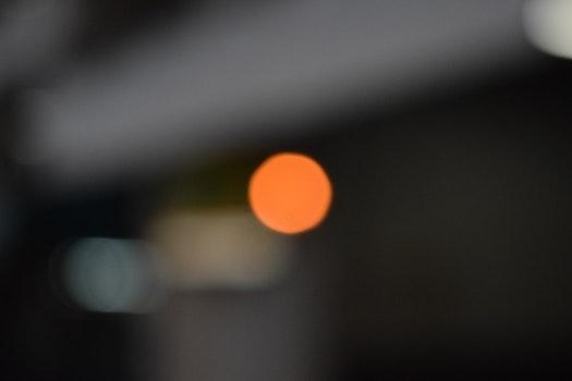 Free stock photo of orange, bokeh, urban, out of focus
