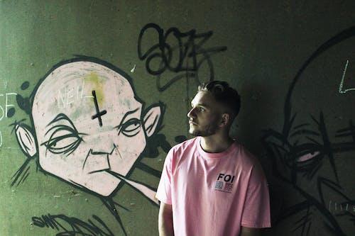 Бесплатное стоковое фото с бирка, городской, граффити, Искусство