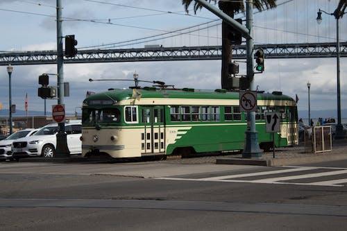 Fotobanka sbezplatnými fotkami na tému embarcadero, na ulici na trhu, San Francisco, trolejbus