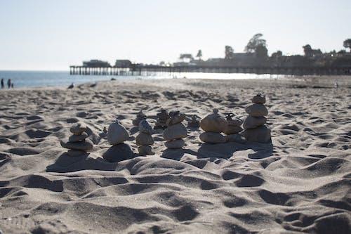 Fotobanka sbezplatnými fotkami na tému kamene, leto, piesok, pláž