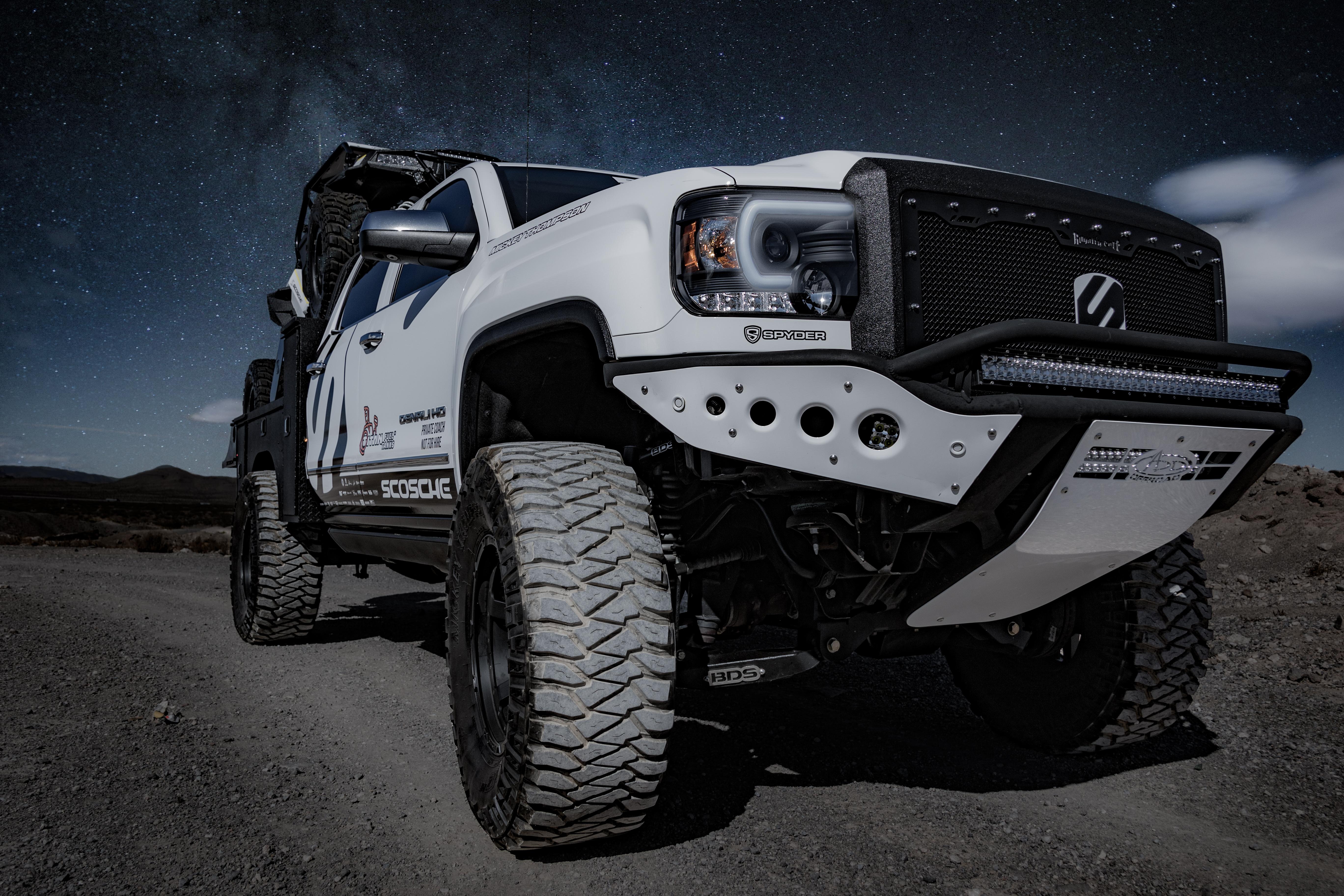 White Dodge Ram 1500 Pickup Truck
