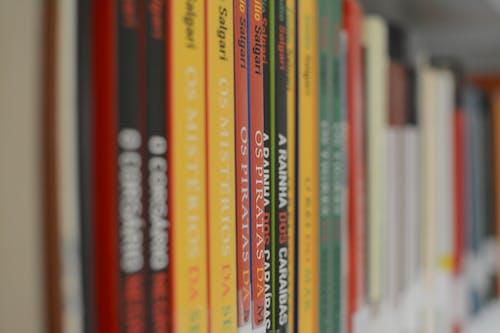 Gratis arkivbilde med bøker, bokhylle