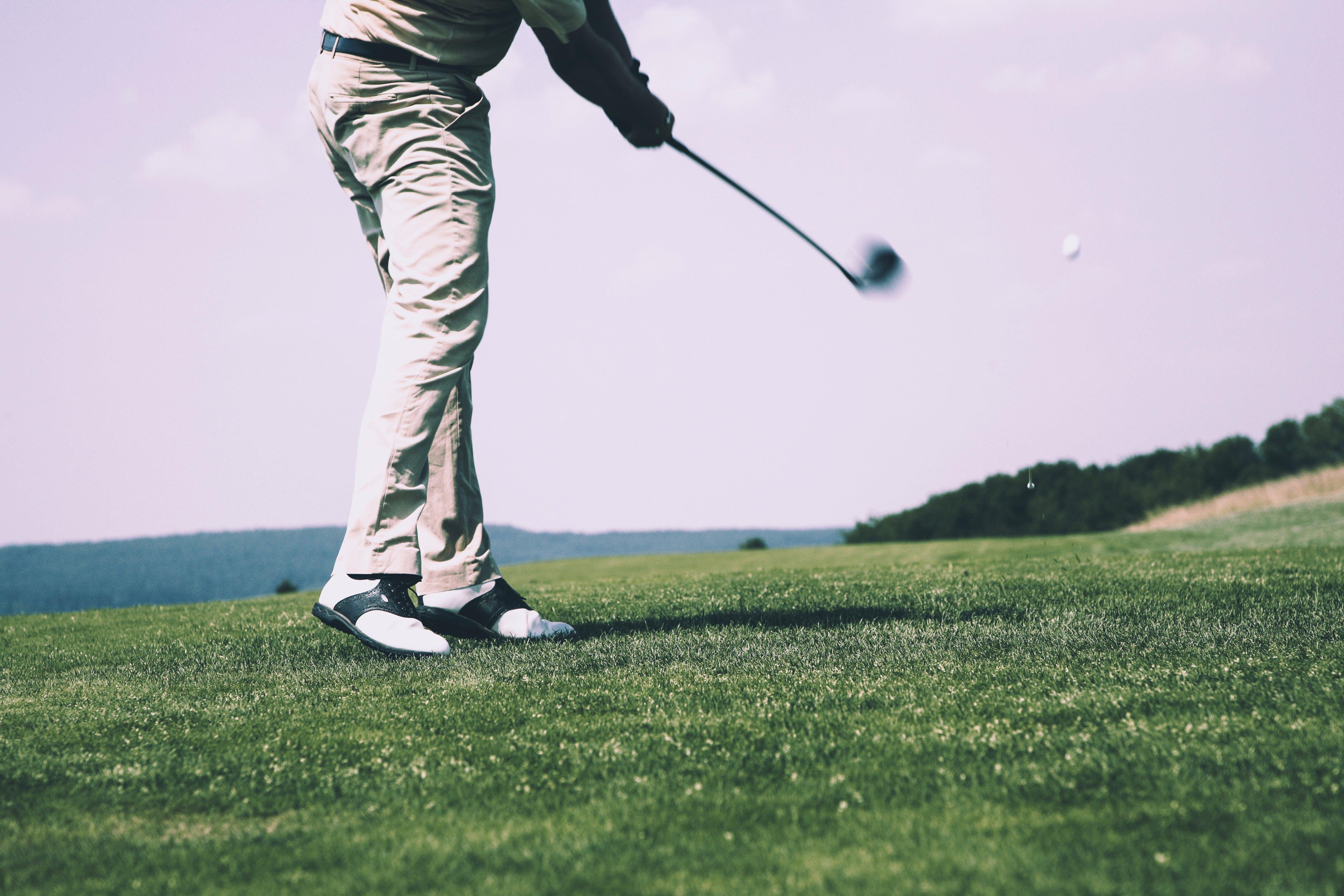 Gratis lagerfoto af Golf, Golfbane, golfbold, Golfkølle