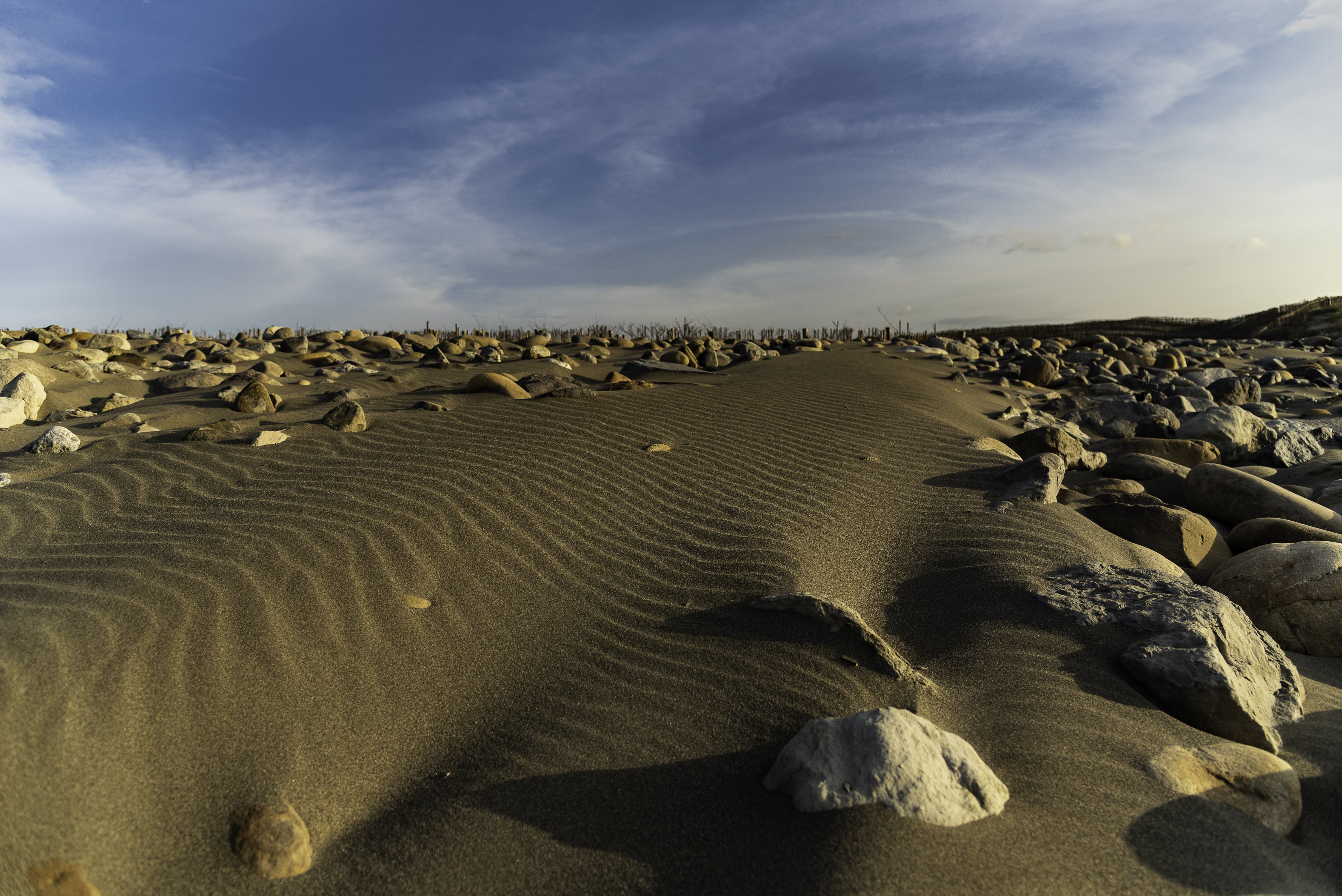 Free stock photo of rock, sand dune