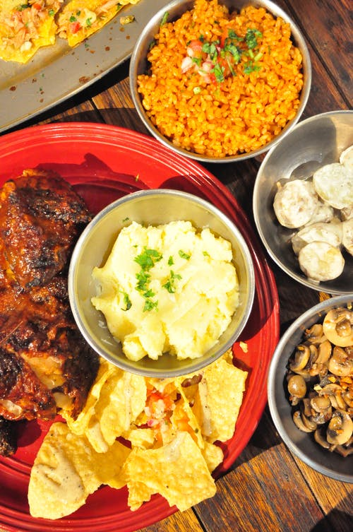 Darmowe zdjęcie z galerii z jedzenie, kurczak, meksykański, meksykańskie jedzenie