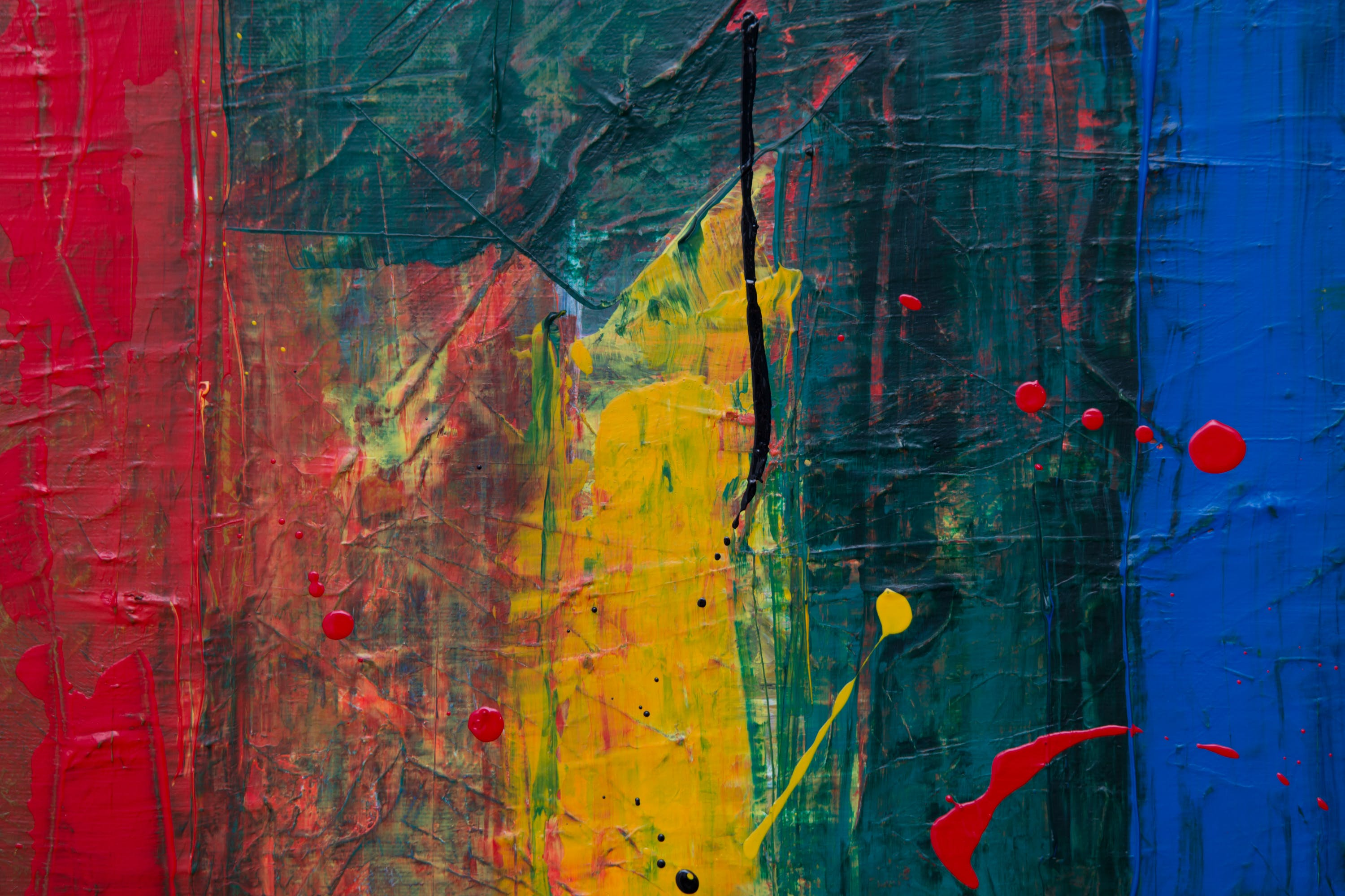 Free stock photo of abstract expressionism, abstract painting, acrylic paint, background