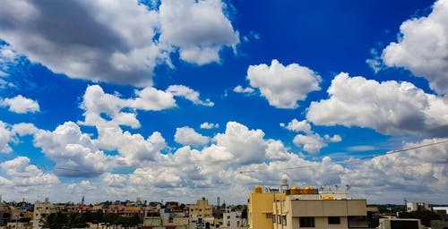 Free stock photo of blue sky, clear sky, cloud, cloudburst