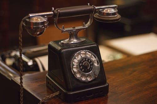 Photos gratuites de rétro, téléphone vintage, vieux téléphone