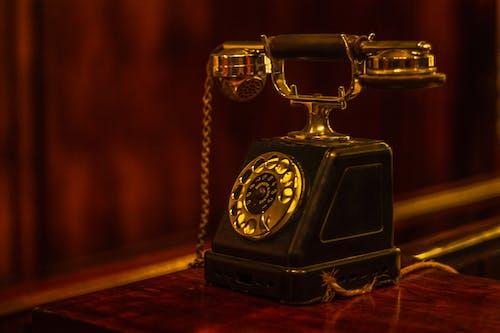 Photos gratuites de rétro, téléphone, téléphone vintage, vieux téléphone