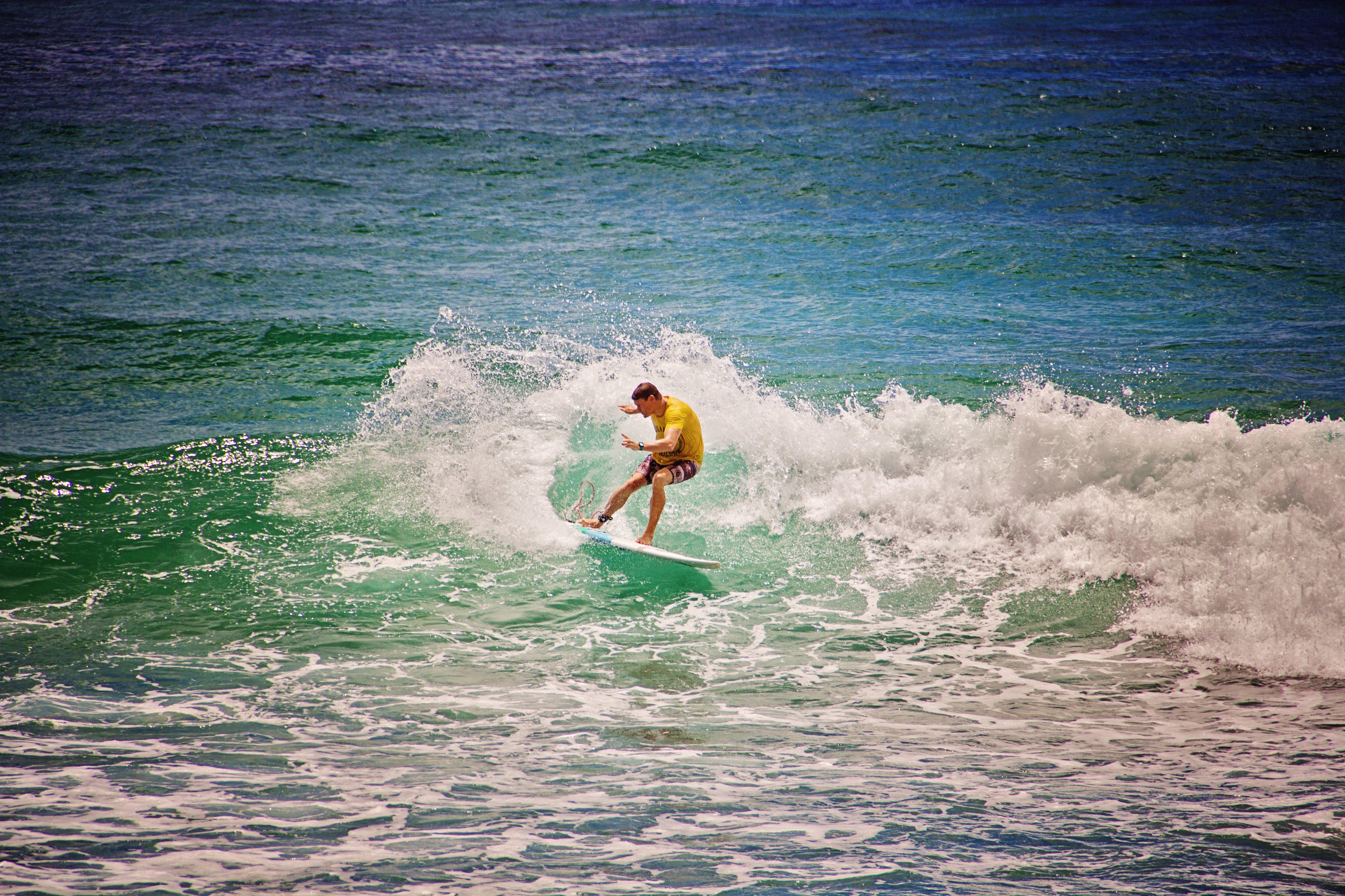 Gratis lagerfoto af bevægelse, bølger, dagtimer, handling