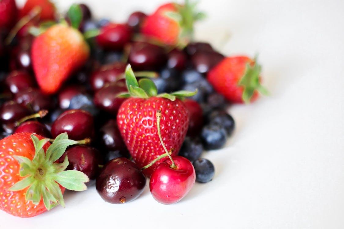 bær, blåbær, delikat
