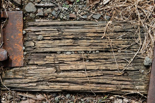 Free stock photo of railroad track, wood