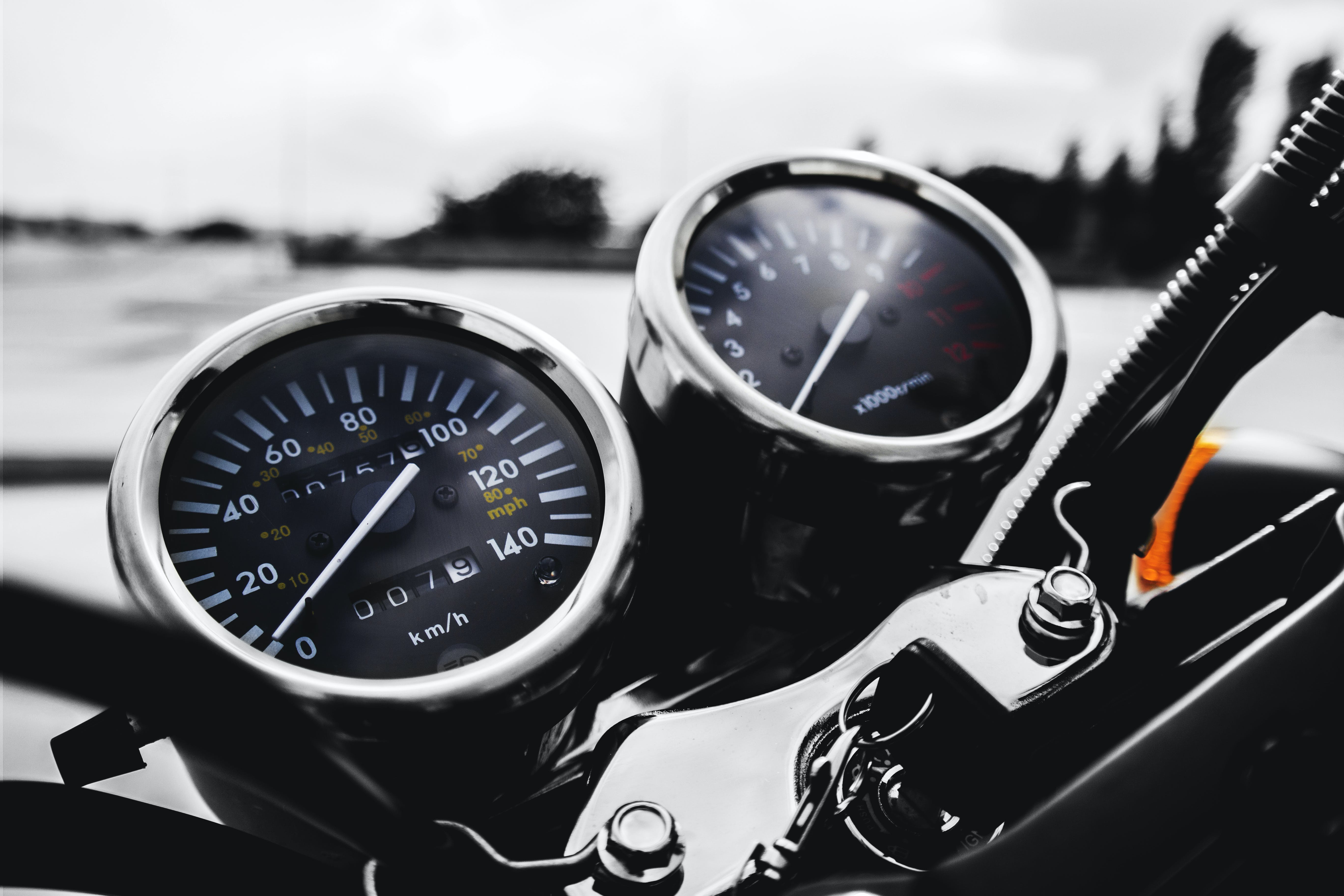 automotive, gauge, motorbike