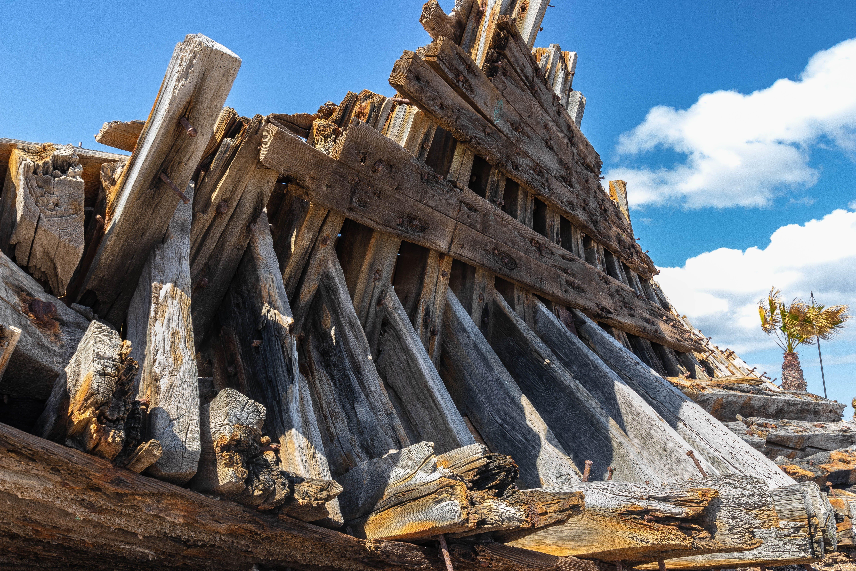Free stock photo of driftwood, shipwreck