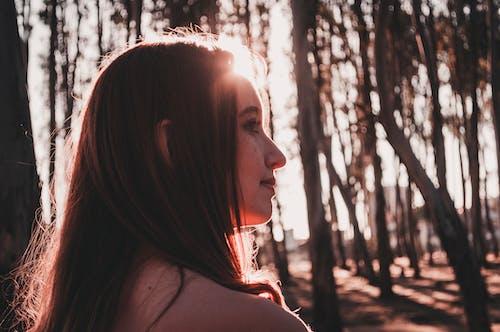 Foto profissional grátis de atraente, bonita, bonitinho, crepúsculo
