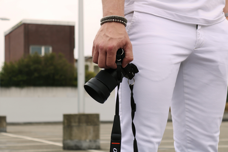 black, bracelets, camera