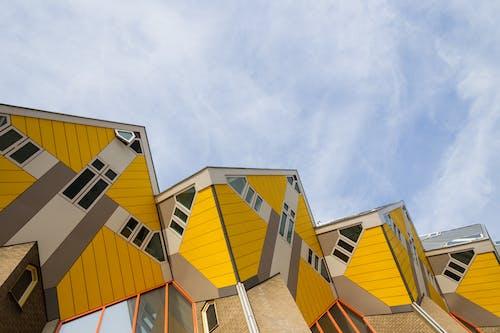 反射, 屋頂, 工業, 建築物正面 的 免費圖庫相片