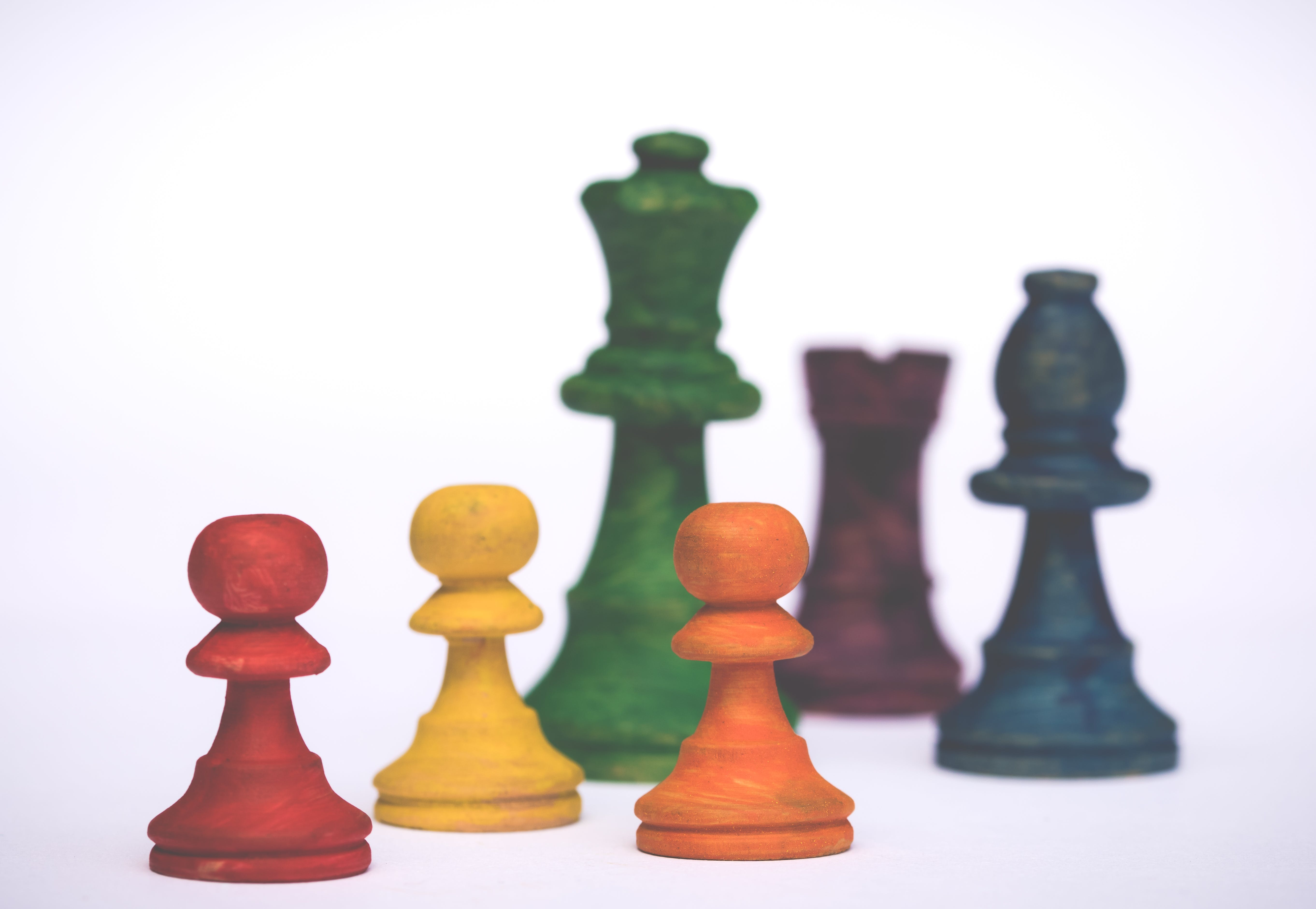 Assorted-color Chess Pieces