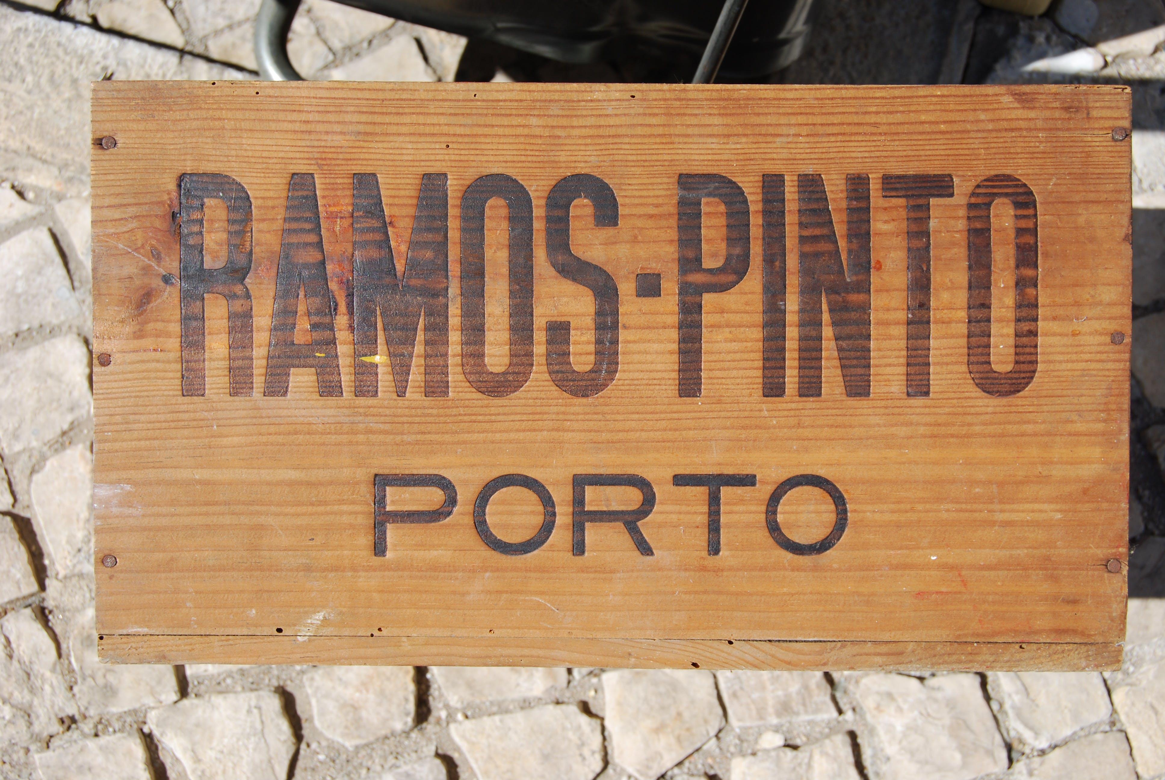 Free stock photo of old port wine box