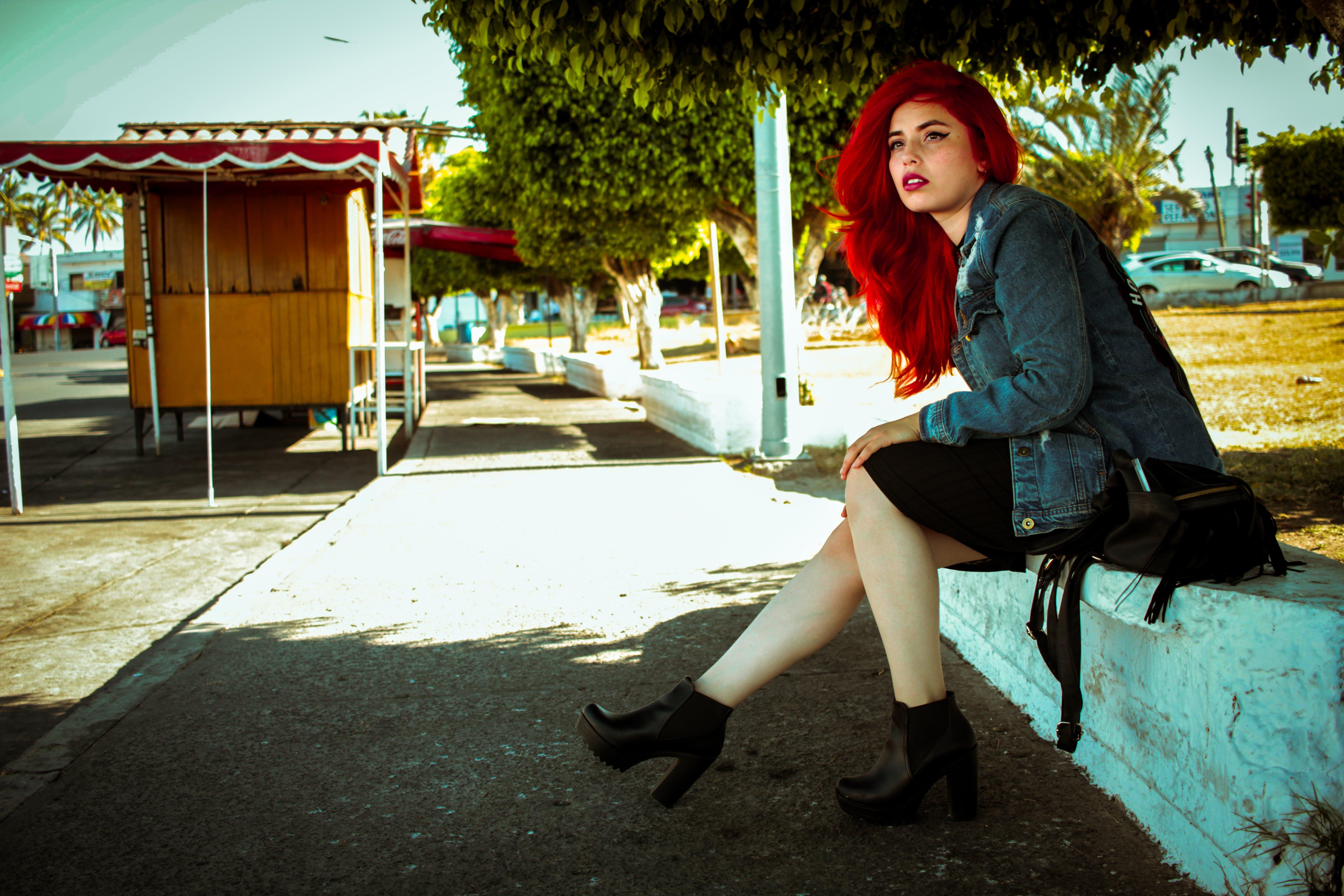 라이프스타일, 빨간 머리, 소녀, 초상화의 무료 스톡 사진