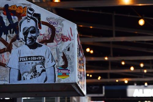çizim, çizmek, duvar yazısı, graffiti içeren Ücretsiz stok fotoğraf