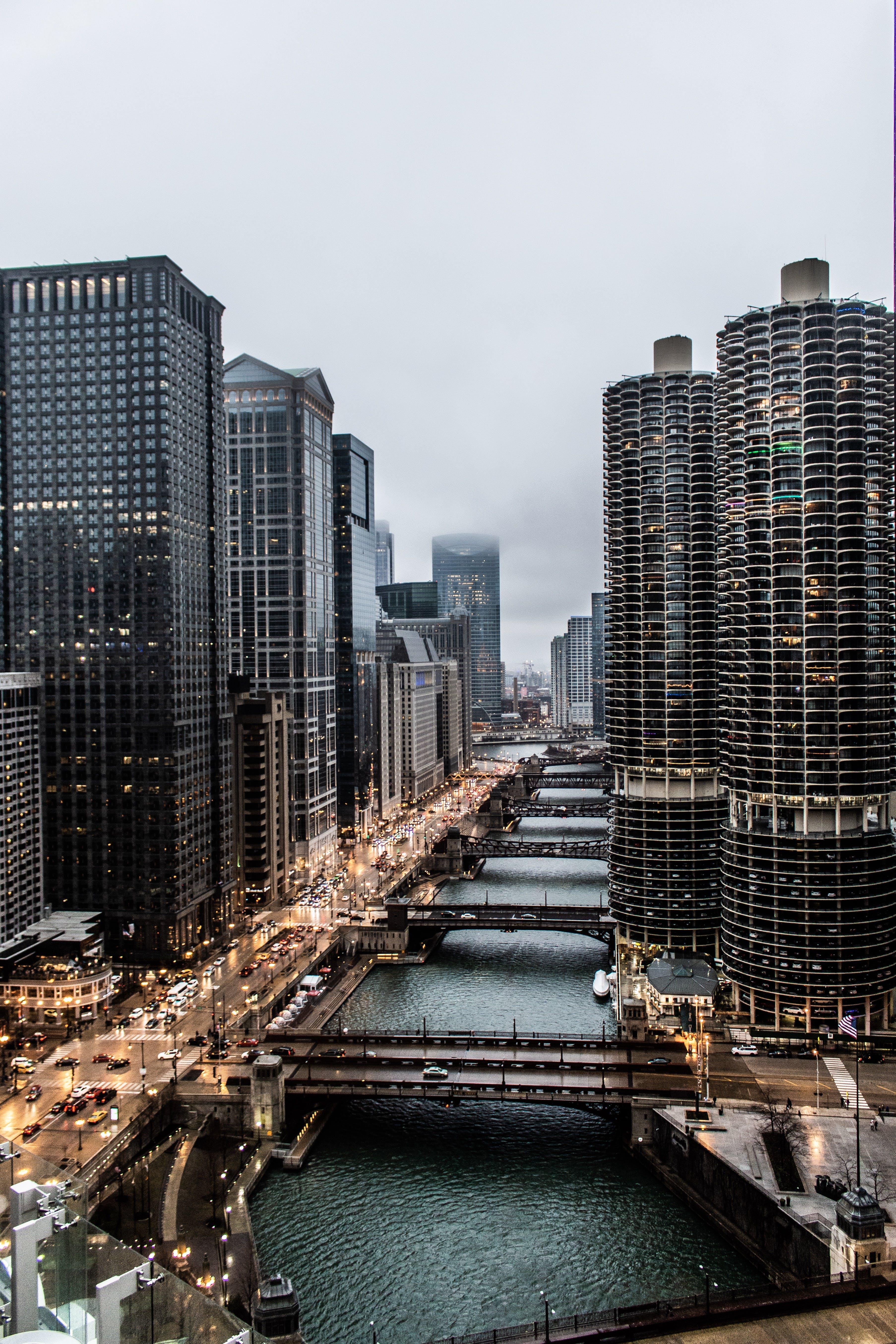 City Buildings and Bridges