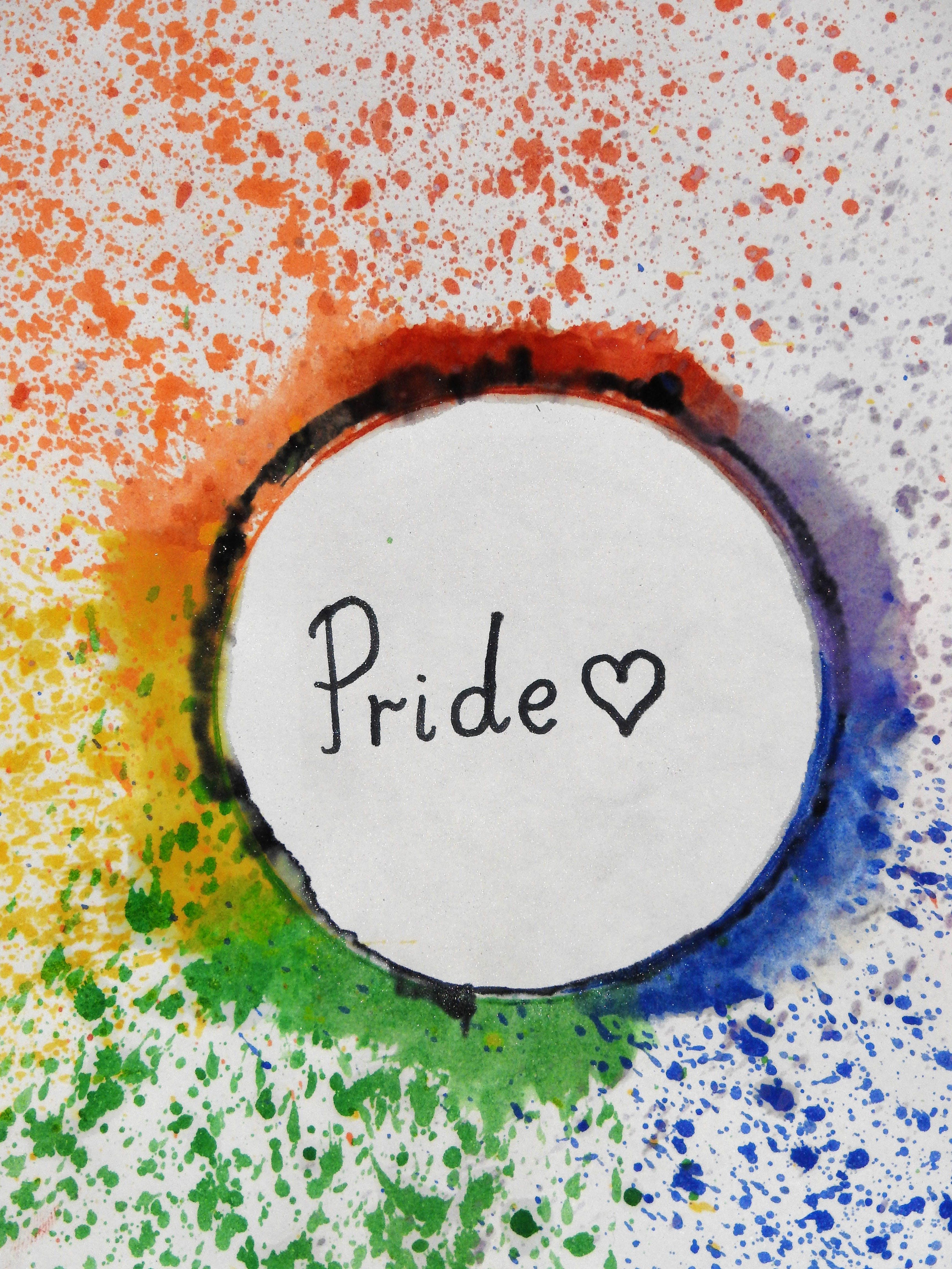 Pride Text Overlay