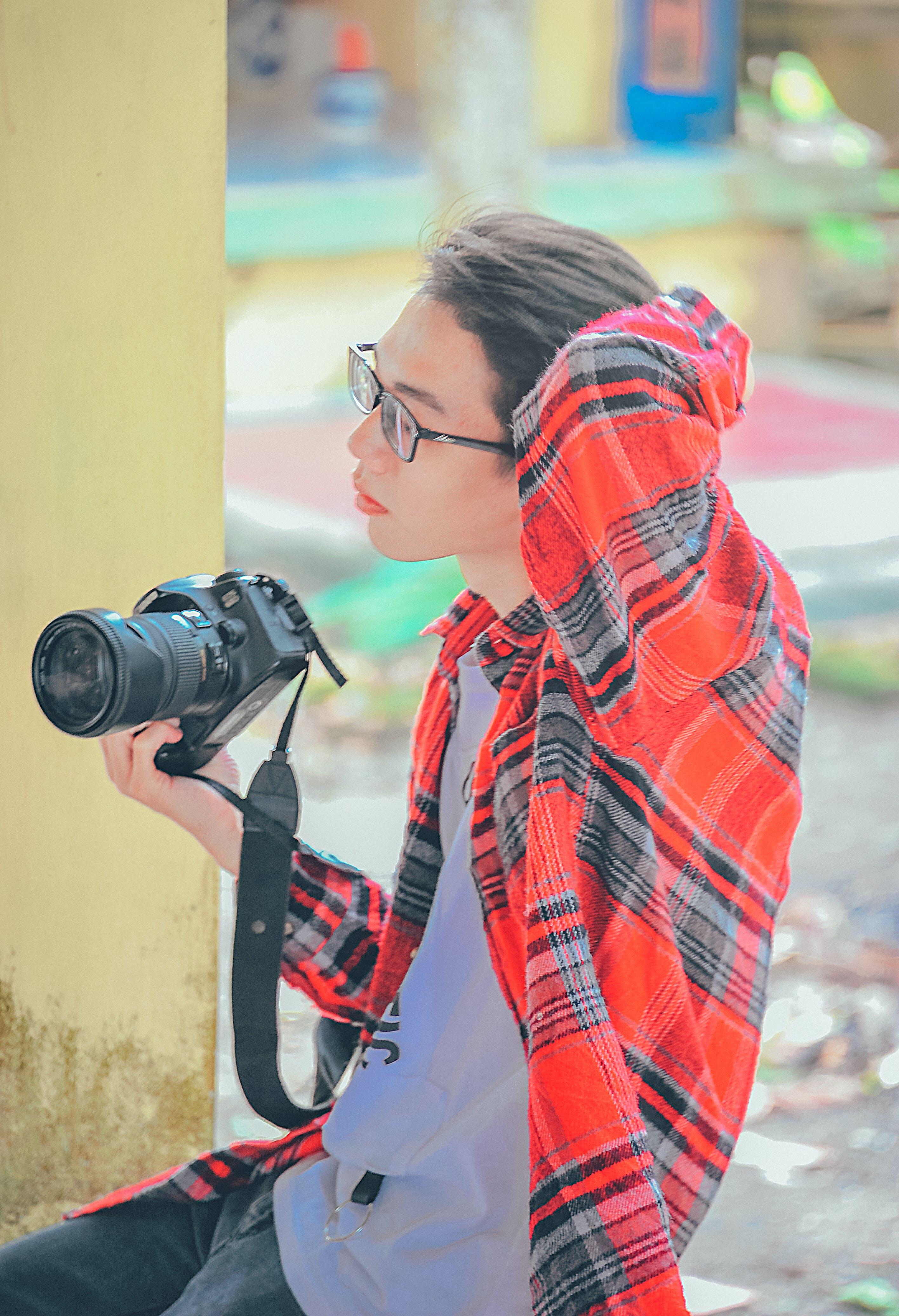 Fotobanka sbezplatnými fotkami na tému človek, dospelý, fotoaparát, fotograf