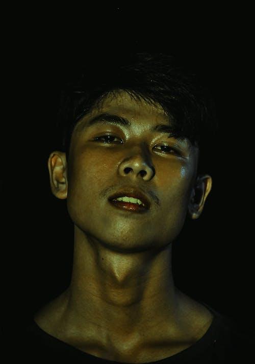 Foto stok gratis dewasa, ekspresi muka, gelap, laki-laki