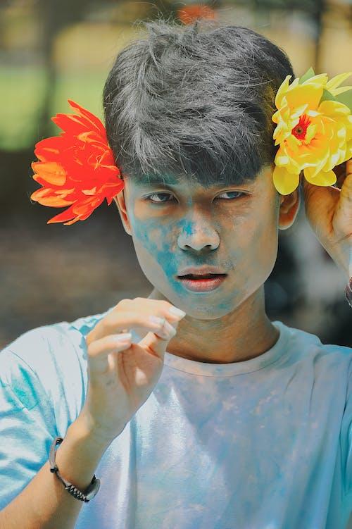 Základová fotografie zdarma na téma asiat, chlapec, denní světlo, festival
