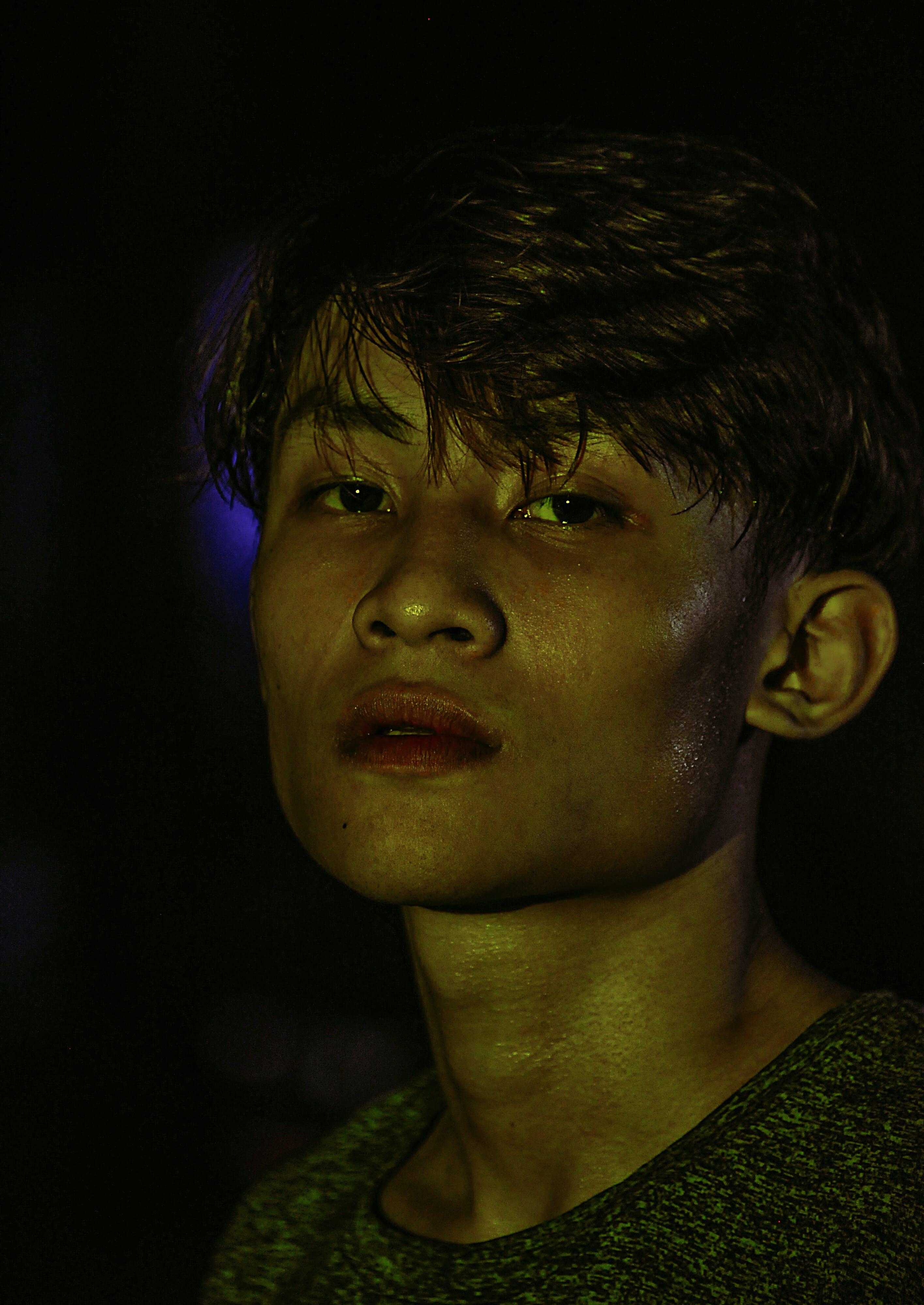 asian guy, boy, dark